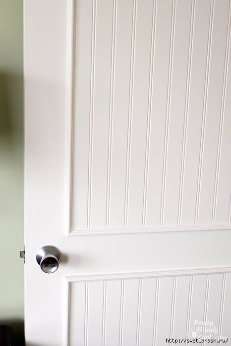 Переделка: из старой двери - новую