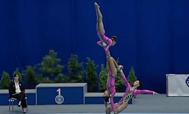 Чемпионат по гимнастике