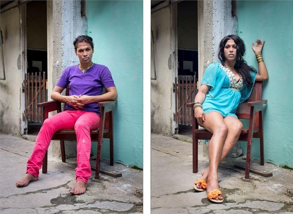 фото людей которые поменяли пол может