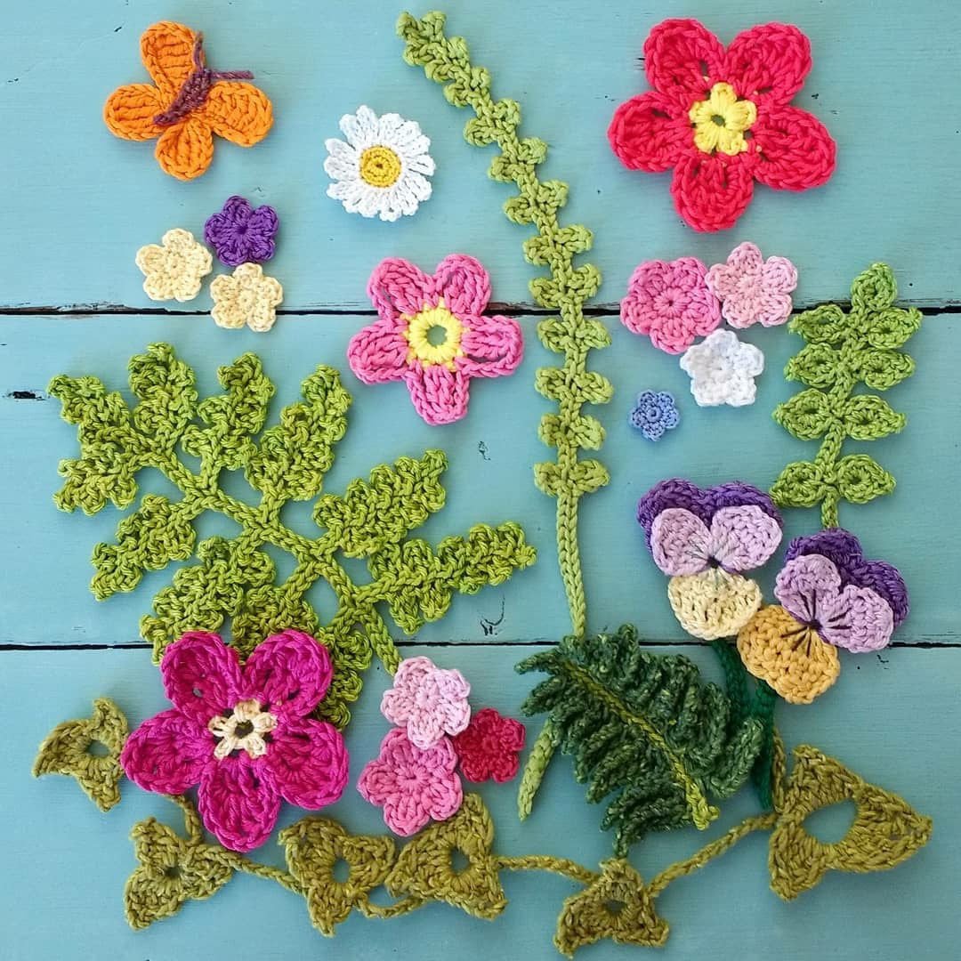 🌼 Мир волшебных цветов. Вязание крючком