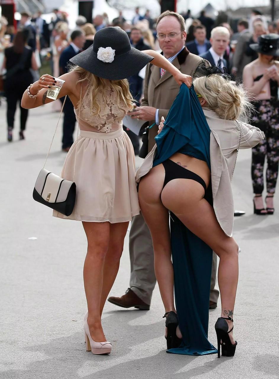 Nude Exhibitionist