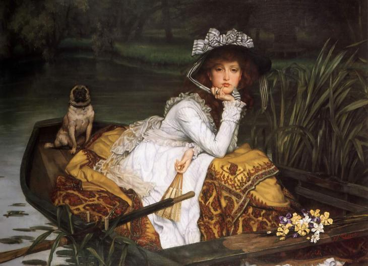 James Tissot. Young Lady
