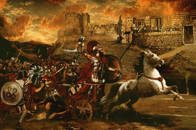 the trojan war vs world war ii Trojan war: the podcast episode 1 the apple of discord and the wheels of western culture's most awesome epic - the trojan war - are set in motion the commentary: fate vs free will (14 minutes begins at 54:00) in this episode of post-story.