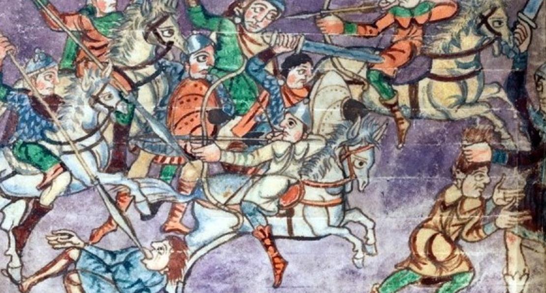 Битва при Пуатье 732 года. Как арабское нашествие было остановлено на долгие столетия смелой армией франков история