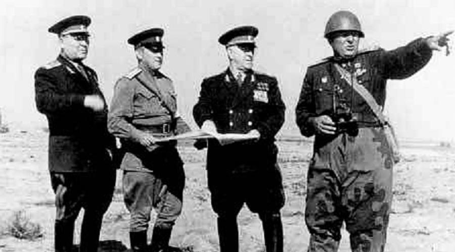 Маршал Жуков и Тоцкие учения СССР