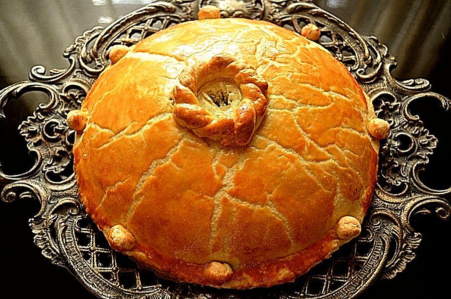 Курник - старинный свадебный пирог