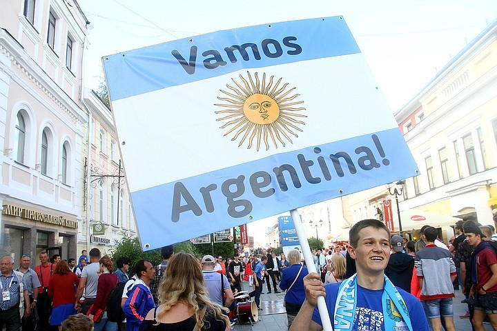Аргентина попросила Россию депортировать четырех болельщиков, участвовавших в драке после матча с Хорватией