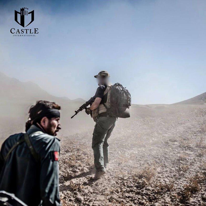 На территории Сирии работает американская ЧВК Castle International