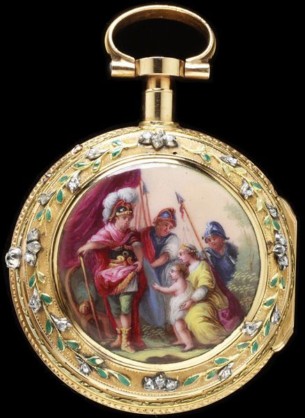 Enamelled And Diamond-Set Gold And Silver And Engraved Brass Made By Jean Fazy - Geneva, Switzerland c.1770-1780: