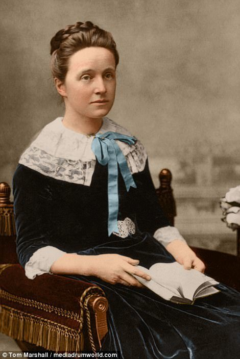 6. Миллисент Фоссет - была президентом национального союза женских обществ суфражисток с 1897 по 1919 интересное, исторические фото, история, колоризация, колоризированные фото, суфражистки, факты, фото