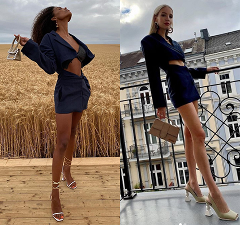 Битва платьев: Тина Кунаки против Леони Ханне