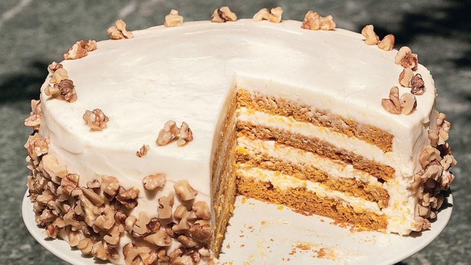 Бисквитный торт с крем-чизом…