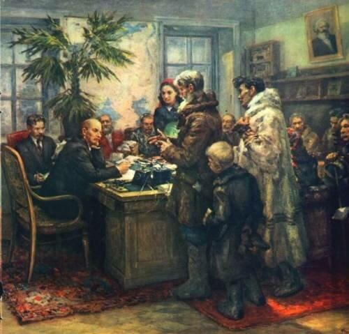 Сравним что изменилось! Ленин про деревню. Написано  в 1894 г.