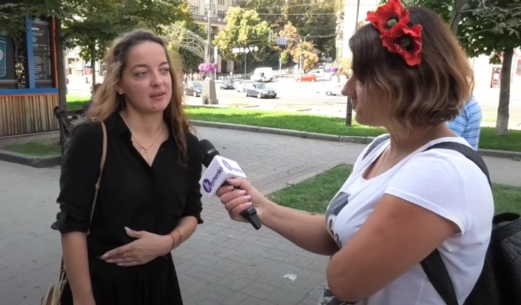 Киевляне высказались, что они думают о протестах в Белоруссии