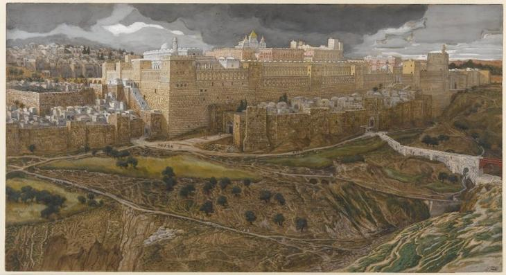 Reconstruction of the Temple of Herod Southeast Corner