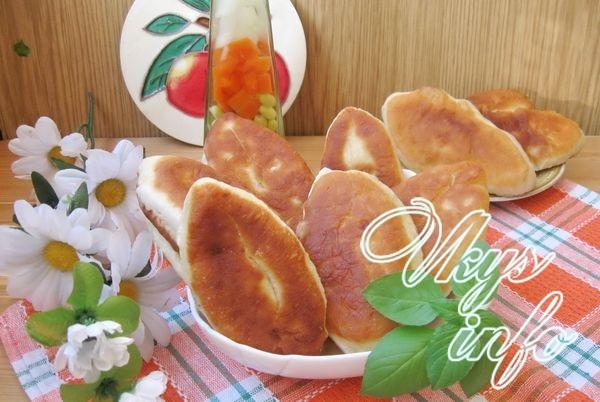 Жареные пирожки с картошкой и курицей