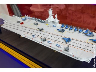 ВМФ предлагают проект ущербного авианосца