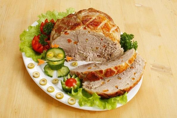 Буженина по-таганрогски - хороший кусок сочного мяса