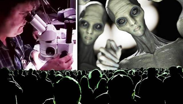 Инопланетяне вживляют в люде…