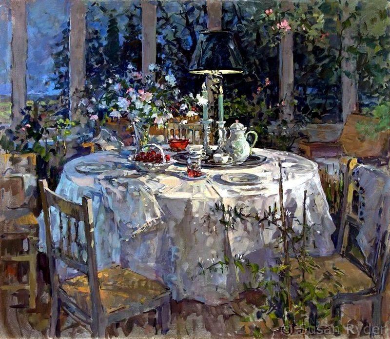 Британская художница Susan Ryder
