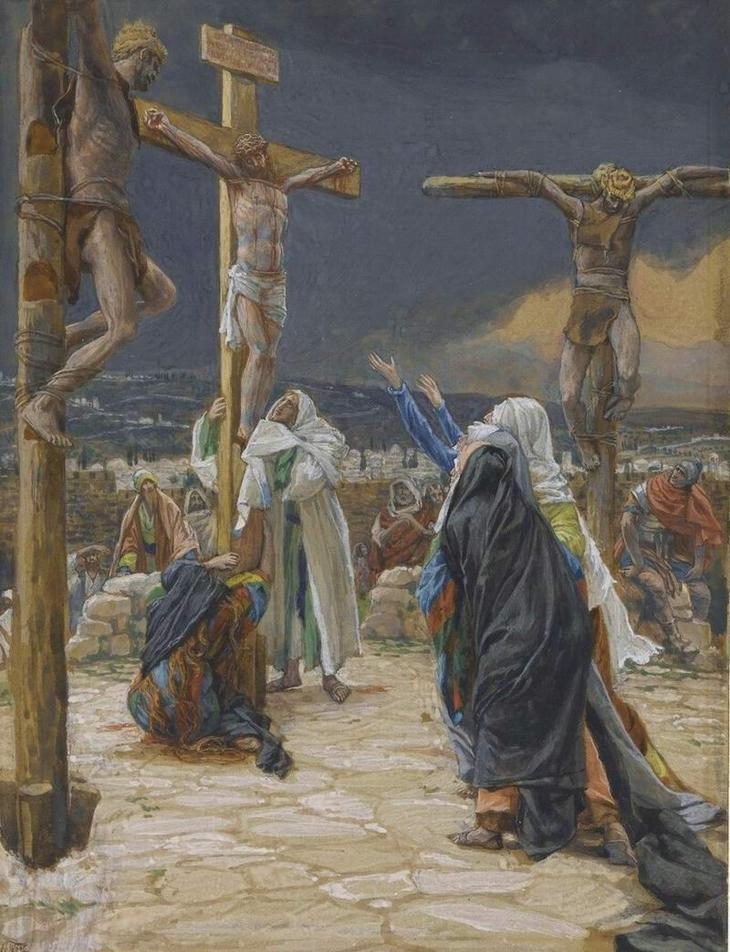 James Tissot. Death_Jesus_