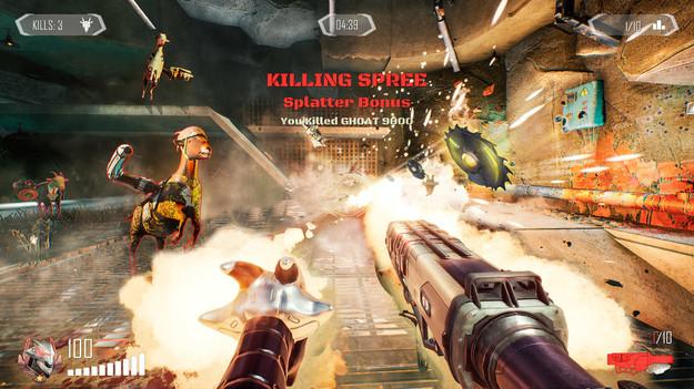 Новую Call of Duty с козлами показали в Goat of Duty action,goat of duty,pc,Игры,Шутеры
