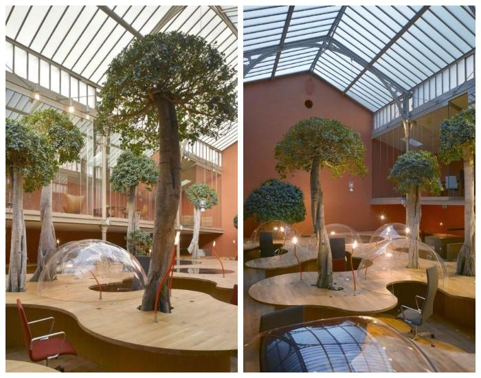 Офис компании Pons&Huot (Париж, Франция).