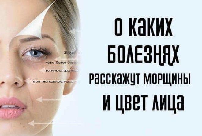 О каких болезнях расскажут морщины и цвет лица
