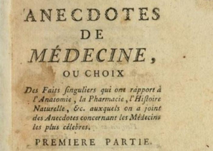 Самые старые медицинские хроники.