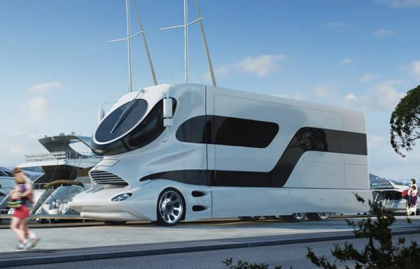 Elemment Palazzo – автоматизированная роскошь на колесах от австрийских разработчиков