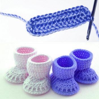 уроки вязание крючком пинетки уроки вязание крючком пинетки