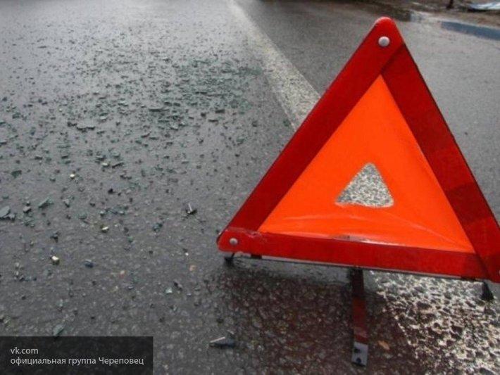 Момент жуткой аварии, где женщина вылетала из авто во Владивостоке, попал на видео