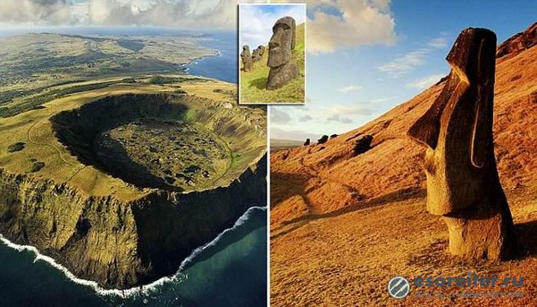 Знаменитые статуи острова Пасхи могут погибнуть