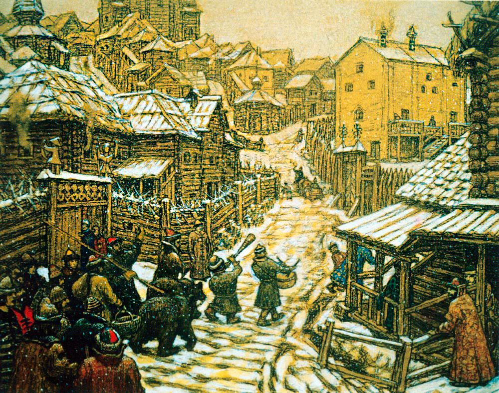 Лесом летним, картинки 17 века в россии