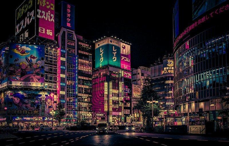 Футуризм красота, мечта, путешествие, страна, фотография, фотомир, япония