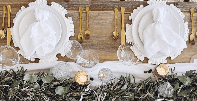 Как накрыть праздничный стол…