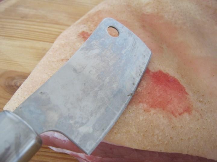 Солёная свиная грудинка - рецепт пошаговый с фото