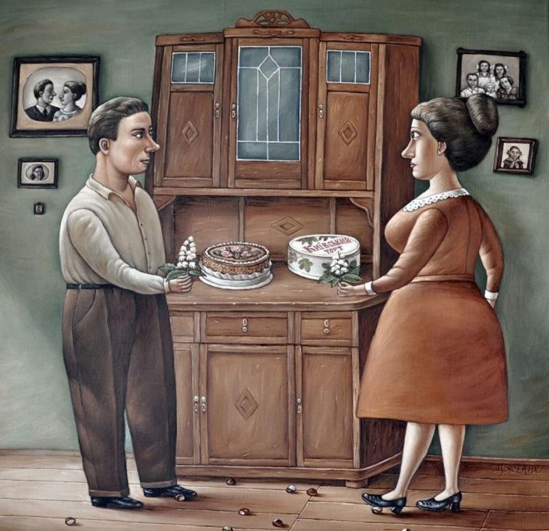 Прикольные картинки мужское и женское