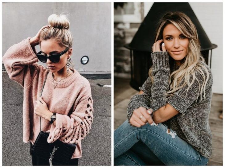 Стильные женские кофты 2019 лучшее