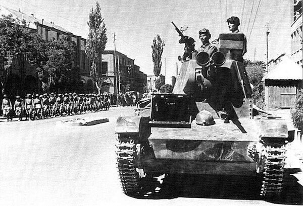Иранская операция. Ввод войск Красной армии в Иран в 1941 году.