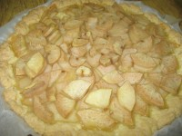Грушевый пирог