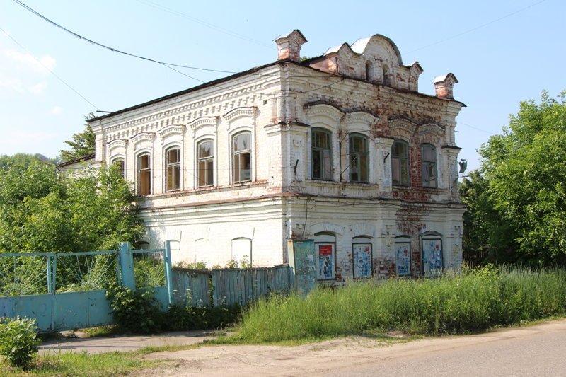 Заброшенные дома на улице Советской Города России, ивановская область, красивые города, пейзажи, путешествия, россия