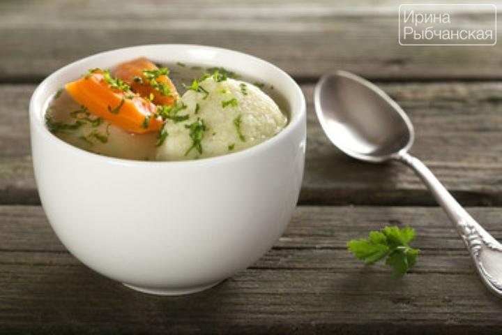 Суп с галушками для воскресного обеда — пошаговый рецепт с фото