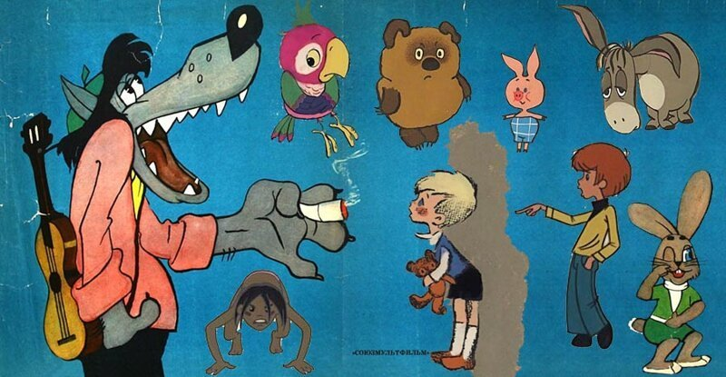 Как выглядели любимые герои в самом начале. Эскизы знаменитых советских мультфильмов