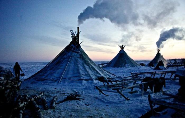 Жизнь людей в суровых условиях крайнего Севера