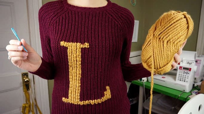 Превращение магловского свитера (Diy)