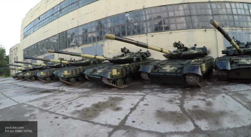Военные Украины неумело оправдались за найденные под Харьковом сотни бесхозных танков