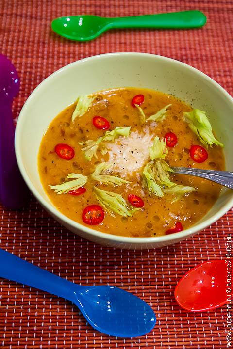 Испанский гороховый суп