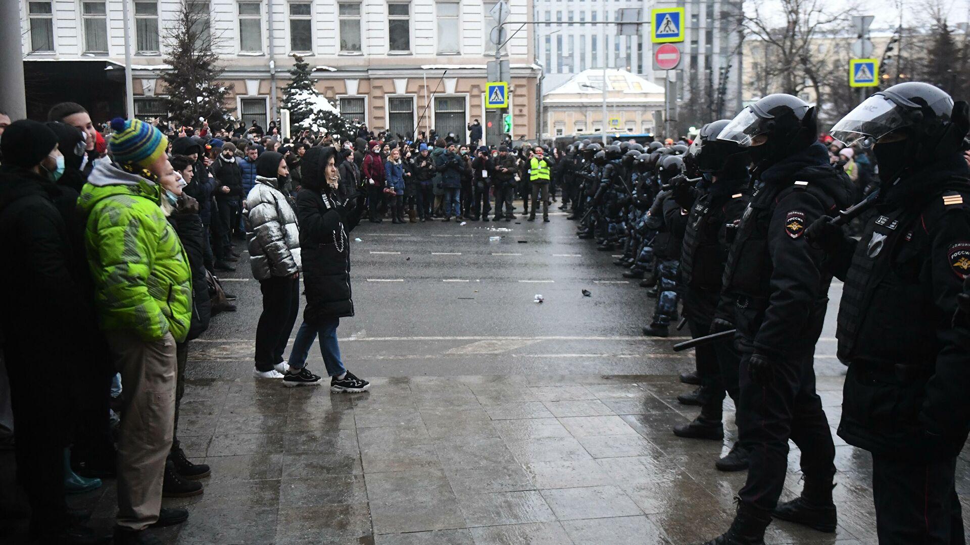 Озаботились демократией в России...О заказчиках протестов 23. 01.21