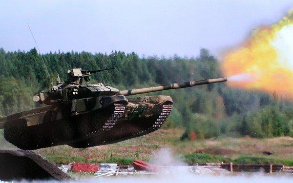 Как русские танкисты у амери…